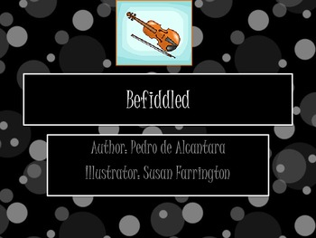 "6th Grade StoryTown ""Befiddled"" Unit - Plot, Character, Ce"