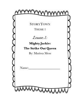 StoryTown, Grade 4,  Lesson 2: Mighty Jackie: Strike-Out Queen