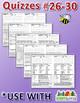 StoryTown Grade 5 – Unique, Editable Spelling Quizzes w/An
