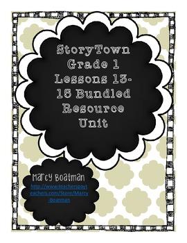 StoryTown Grade Lesson 13-15 Bundled Resource Unit