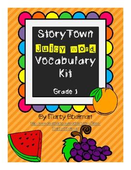 StoryTown Juicy Word Vocabulary Kit Grade 1