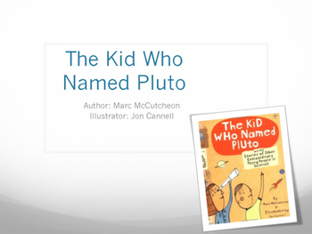 """StoryTown """"Kid Who Named Pluto"""" Unit - Vocab, Skills, Ques"""