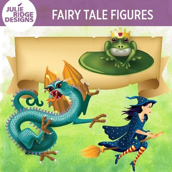 Storybook Figures Clip Art