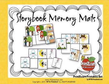 Storybook Memory Mats