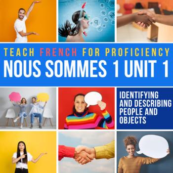French Storytelling Unit: Dit (4 days, French 1)