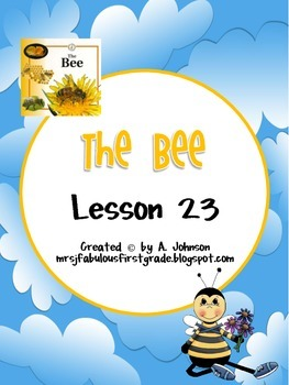 Storytown 2nd Grade Lesson 23: The Bee Supplementals