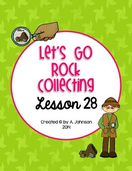 Storytown 2nd Grade Lesson 28: Let's Go Rock Collecting Su