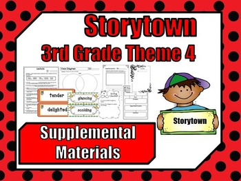 """Storytown 3rd Grade Theme 4 """"Together We Can"""" Resources"""