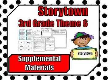 "Storytown 3rd Grade Theme 6 ""Discoveries"" Resources"