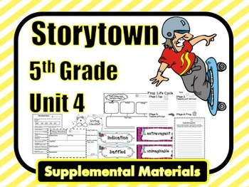 "Storytown 5th Grade Theme 4 ""Dare to Be Great"" Resources"