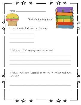 Storytown Comprehension Tests 1-4.