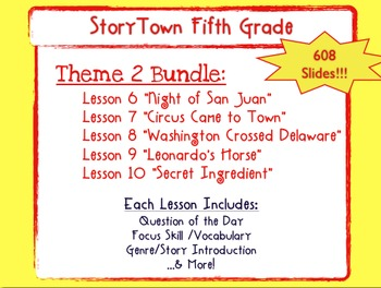 Storytown Grade 5 Theme 2  Weekly PowerPoints