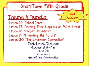 Storytown Grade 5 Theme 4  Weekly PowerPoints