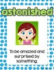 Storytown Vocabulary Posters Theme 3 {3RD GRADE}