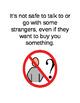 Stranger Danger Social Story - 9 pages (editable)