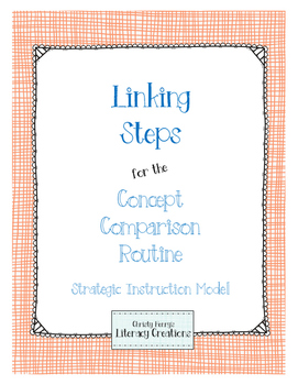 Strategic Instruction Model - Concept Comparison Linking Steps