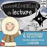 Compréhension de lecture #3 / 6 stratégies pour l'hiver