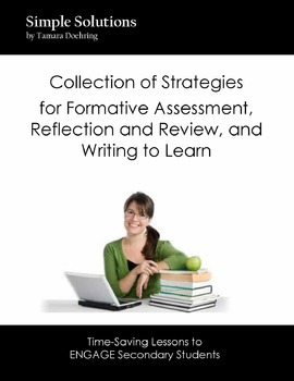 QUICK LIST of strategies for Formative Assessment, Review,