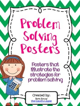 Strategies for Problem Solving Posters