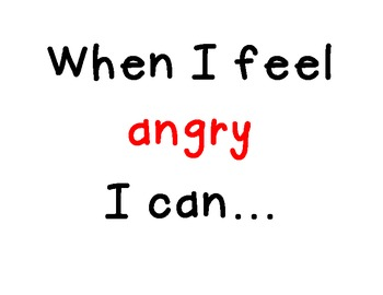 Strategies for students to control anger