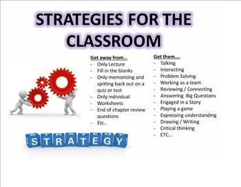 Strategies for the Interactive UBD Classroom