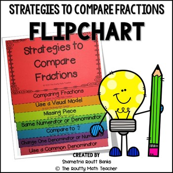Strategies to Compare Fractions Flipchart