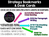Strategy Desk Cards & Bookmarks
