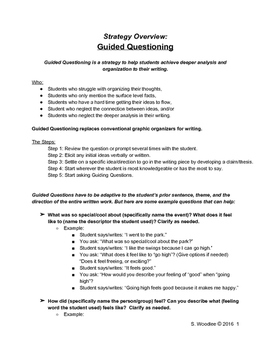 Strategy How To: Guided Questioning