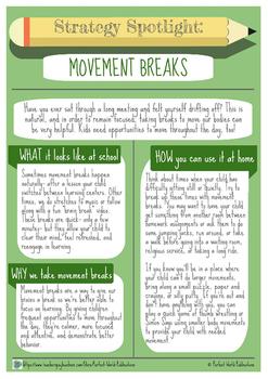Strategy Spotlight: Movement Breaks