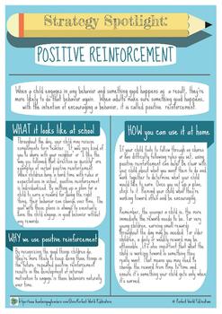 Strategy Spotlight: Positive Reinforcement