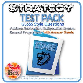 Strategy Tests Pack - Stage 7 - Gloss Style Questions - Ne