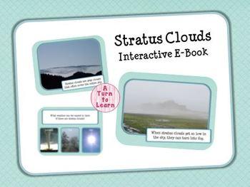 Stratus Clouds Interactive E-Book and Games for Smartboard
