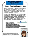 Straw Rocket Lab - Newton's Laws of Motion