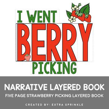 Strawberry Picking Layered Book