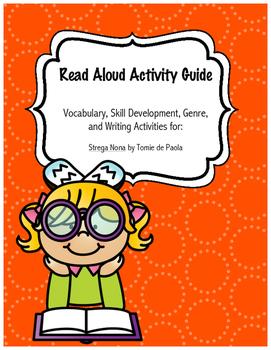 Strega Nona No Prep Read-Aloud Literacy Guide