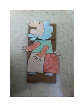 Strega Nona Puppet Craft