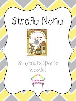 Strega Nona Student Response Booklet