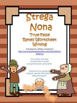 Strega Nona Worksheets