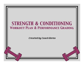 Strength & Conditioning Workout Plan