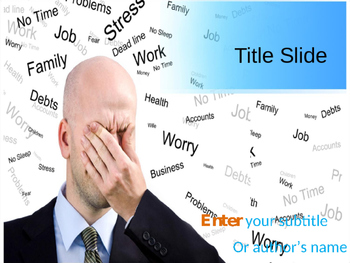 Stress PPT Template