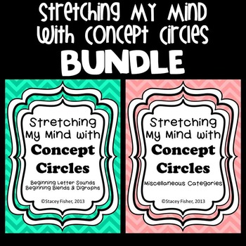 Stretching My Mind with Concept Circles BUNDLE-Letters, Sh