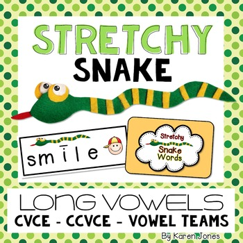 Stretchy Snake Words {Long Vowels}