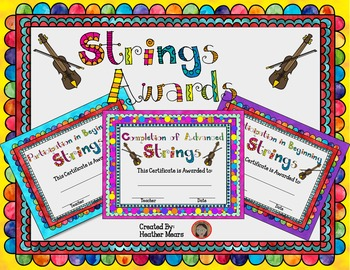 Strings Awards