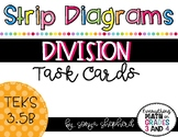 Strip Diagrams:  Division Word Problems