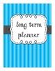 Stripe Lesson Plan Covers