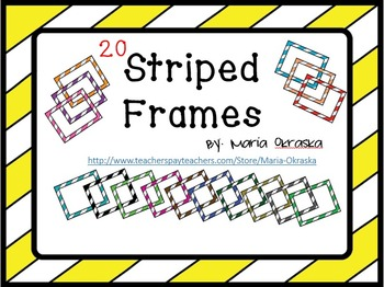 Striped Frames/Borders