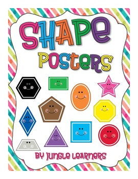 Shape Posters: Striped