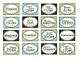 Striped Teacher Toolbox Labels
