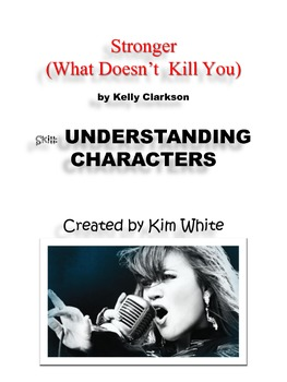 """Use Song Lyrics to TEACH  """"Understanding Characters"""""""