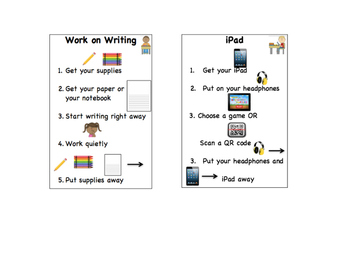 Structure Direction Cards - literacy